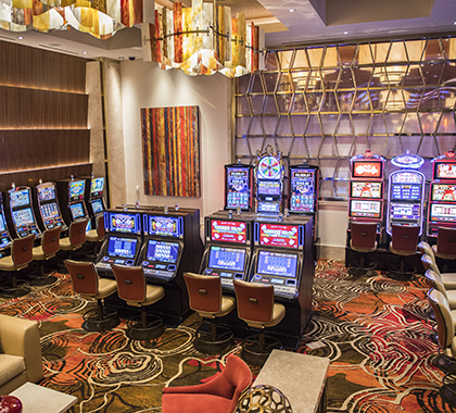 Casino millwork and decorative metal