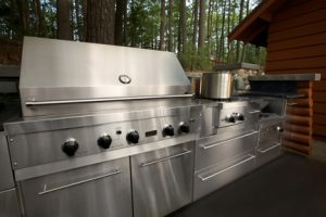 Outdoor stainless cabinets