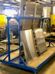 Stainless Steel Cabinets parts cart for custom metal fabrication